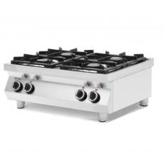 Kuchnia gazowa 4-palnikowa stołowa Kitchen Line<br />model: 227381<br />producent: Hendi