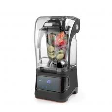 Blender barowy z obudową wyciszającą - sterowanie cyfrowe<br />model: 230695<br />producent: Hendi
