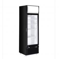 Witryna chłodnicza z podświetlanym panelem 360 l<br />model: 233788<br />producent: Arktic
