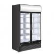 Witryna chłodnicza z podświetlanym panelem 760 l, 233795