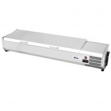 Nadstawa chłodnicza z pokrywą 8 GN 1/3<br />model: 233986<br />producent: Hendi