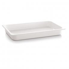 Pojemnik GN 1/2 gł. 6,5 cm z melaminy biały<br />model: 83757<br />producent: APS