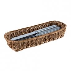 Koszyk na sztućce brązowy<br />model: 40010<br />producent: APS