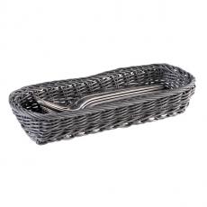 Koszyk na sztućce szary<br />model: 40011<br />producent: APS