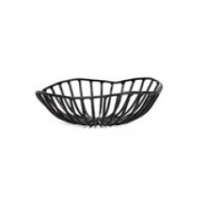 Kosz metalowy CATU czarny śr. 15 cm<br />model: B7218556<br />producent: Serax