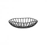 Kosz metalowy CATU czarny śr. 20 cm B7218557