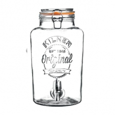 Słój 7 l z kranem<br />model: 25.403<br />producent: Kilner