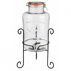 Słój OLD FASHIONED 7 l z kranem<br />model: 10409<br />producent: APS