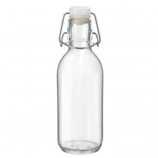 Butelka Emilia z zamknięciem 250 ml<br />model: 6.66215<br />producent: Bormioli Rocco