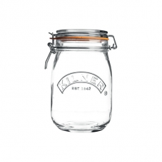 Słoik CLIP TOP poj. 1 l<br />model: 25.491<br />producent: Kilner