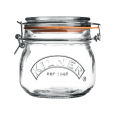Słoik CLIP TOP poj. 500 ml<br />model: 25.490<br />producent: Kilner