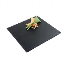 Płyta do prezentacji dań z łupku SLATE 25x25 cm<br />model: 994<br />producent: APS