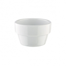 Mini naczynie FLOWER POT z melaminy białe 40 ml<br />model: 84470<br />producent: APS
