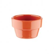 Mini naczynie FLOWER POT z melaminy ceglane 40 ml<br />model: 84471<br />producent: APS