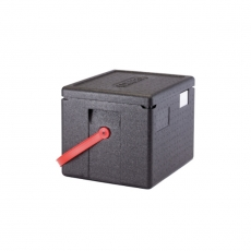 Pojemnik termoizolacyjny GoBox z czerwonym paskiem<br />model: EPP280RDST<br />producent: Cambro