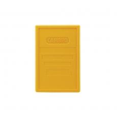 Pokrywa do pojemnika termoizolacyjnego Cam GoBox żółta<br />model: EPP3253LID/145<br />producent: Cambro