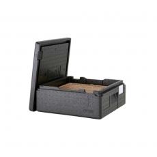 Pojemnik termoizolacyjny do pizzy CamGoBox - 2 pizze 33x33 cm<br />model: EPPZ35100<br />producent: Cambro