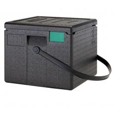 Pojemnik termoizolacyjny do pizzy CamGoBox bez paska - 6 pizz 33x33 cm<br />model: EPPZ35265<br />producent: Cambro