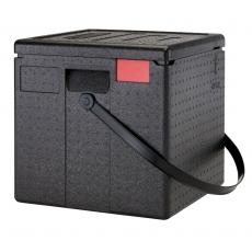 Pojemnik termoizolacyjny do pizzy CamGoBox bez paska - 8 pizz 33x33 cm<br />model: EPPZ35330<br />producent: Cambro