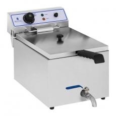 Frytownica elektryczna z kranem poj. 17 l RCEF 15E<br />model: 10010421<br />producent: Royal Catering