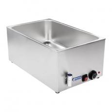 Bemar elektryczny stołowy z kranem RCBM-1/1-150A<br />model: 10010186<br />producent: Royal Catering
