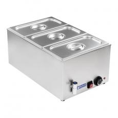Bemar elektryczny stołowy z kranem RCBM-1/3-150A-GN<br />model: 10010189<br />producent: Royal Catering