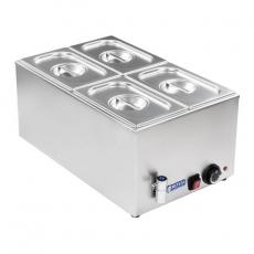 Bemar elektryczny stołowy z kranem RCBM-1/4-150A-GN<br />model: 10010190<br />producent: Royal Catering