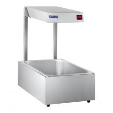 Podgrzewacz do potraw GN 1/1 z lampą grzewczą RCWB-500<br />model: 10010288<br />producent: Royal Catering