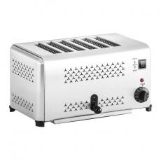 Toster ze stali nierdzewnej RCET-6E<br />model: 10010331<br />producent: Royal Catering