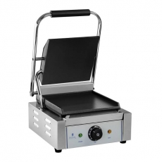 Grill kontaktowy pojedynczy RCKG-1800-F<br />model: 10010337<br />producent: Royal Catering
