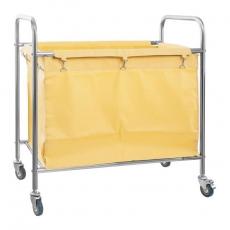 Wózek nierdzewny na pranie RCWW 1<br />model: 10010373<br />producent: Royal Catering