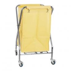 Wózek nierdzewny na pranie RCWW 3<br />model: 10010376<br />producent: Royal Catering