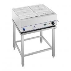 Bemar elektryczny z kranem na podstawie RCBM-6WS-2000<br />model: 10010385<br />producent: Royal Catering