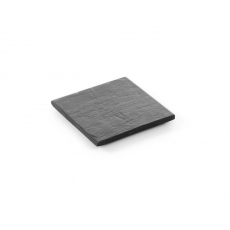 Płyta łupkowa Modern - podstawka 10x10 cm<br />model: 423646<br />producent: Hendi