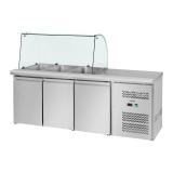 Stół chłodniczy sałatkowy 3-drzwiowy RCSA-S228 10010449