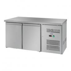 Stół chłodniczy 2-drzwiowy z agregatem bocznym RCLK-S228<br />model: 10010457<br />producent: Royal Catering