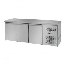 Stół chłodniczy 3-drzwiowy z agregatem bocznym RCLK-S339<br />model: 10010458<br />producent: Royal Catering