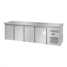 Stół chłodniczy 4-drzwiowy z agregatem bocznym RCLK-S449<br />model: 10010459<br />producent: Royal Catering