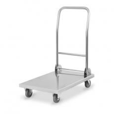 Wózek platformowy nierdzewny składany RCFT-1.1<br />model: 10010675<br />producent: Royal Catering