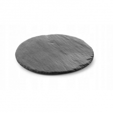 Płyta łupkowa Modern - taca śr. 25 cm<br />model: 423875<br />producent: Hendi