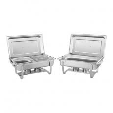 Podgrzewacz stołowy GN 1/1 RCCD-2.4GN-1 zestaw 2 szt.<br />model: 10010880<br />producent: Royal Catering