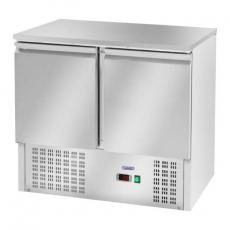 Stół chłodniczy 2-drzwiowy z agregatem dolnym RCKT-90/70<br />model: 10010924<br />producent: Royal Catering