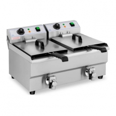 Frytownica elektryczna 2-komorowa poj. 2x10 l RCEF 10DB<br />model: 10011144<br />producent: Royal Catering