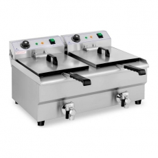 Frytownica elektryczna 2-komorowa 2x13 l RCEF 13DB<br />model: 10011145<br />producent: Royal Catering