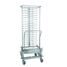 Wózek bankietowy do pieca 2011 - na 59 talerzy<br />model: 00003513<br />producent: Retigo
