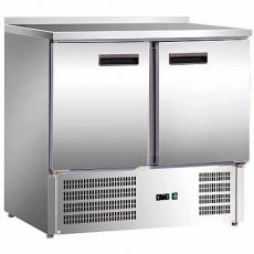 Stół chłodniczy 2-drzwiowy z agregatem na dole<br />model: 842029<br />producent: Stalgast