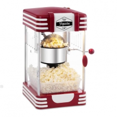 Maszyna do popcornu retro BCPK-300-WR<br />model: 10080006/W<br />producent: Royal Catering