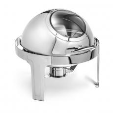 Podgrzewacz stołowy roll-top okrągły z wizjerem Forgast<br />model: FG03110<br />producent: Forgast