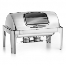 Podgrzewacz stołowy GN 1/1 Roll-Top z wizjerem Forgast<br />model: FG03118<br />producent: Forgast