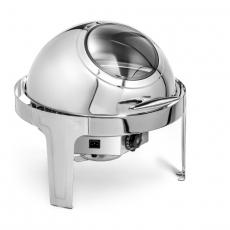 Podgrzewacz stołowy elektryczny okrągły roll-top z wizjerem Forgast<br />model: FG03113<br />producent: Forgast